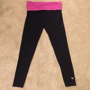 PINK women's full-length Yoga pants